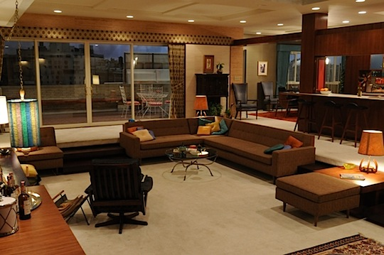 Mad Men: Don Draper's Apartment