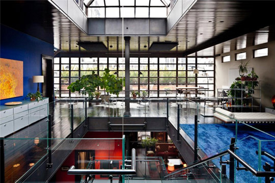 $49.5 Million Tribeca NYC Penthouse with Basketball Court