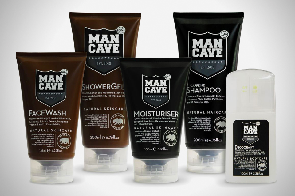 Man Cave Grooming : Mancave natural grooming direkt concept