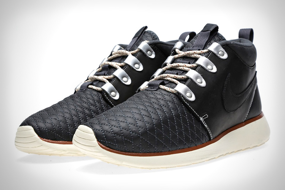 nike roshe run sneakerboots premium leather pack