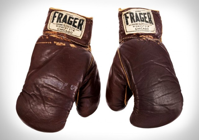 1964 Muhammad Ali Fight Worn Gloves
