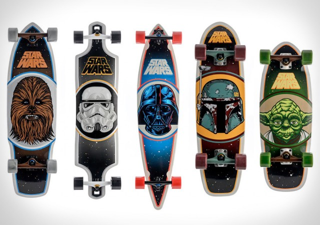Santa Cruz Skateboards x Star Wars 2014 Collection