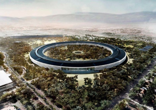 Behind Apple's Campus 2 Headquarters