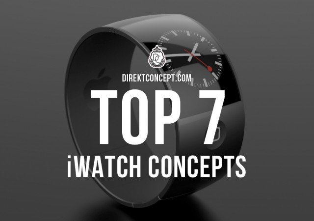 Our Top 7 Favorite iWatch Concepts
