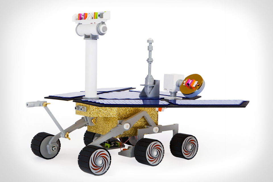 Build a Mini Mars Rover with littlebits' Space Kit