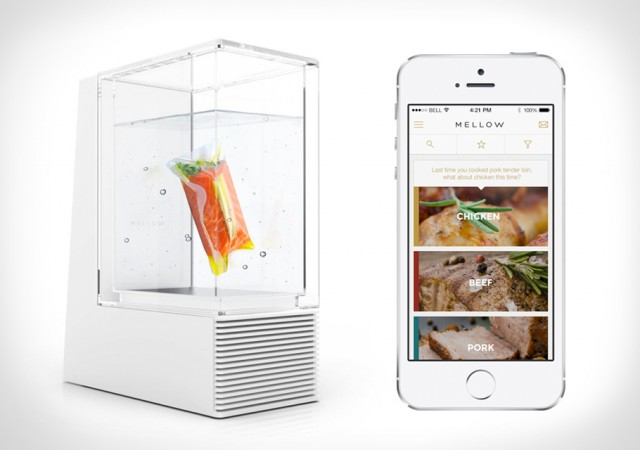Mellow Sous-vide Cooks Dinner While You're at Work