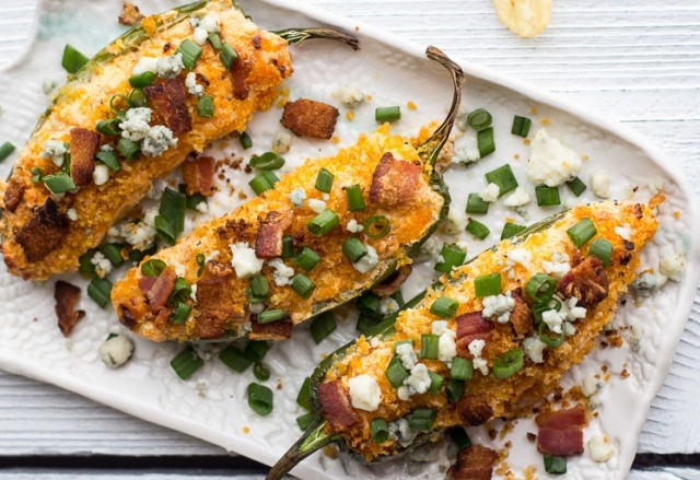 Weekend Recipe: Buffalo Chicken Jalapeño Poppers