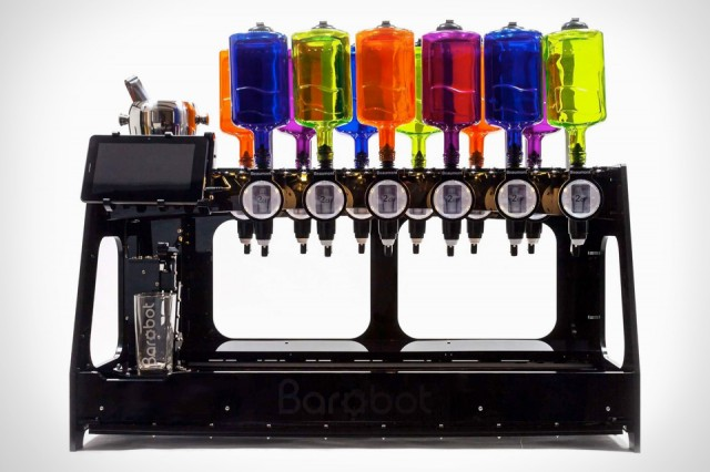 Barbot Mixes Drinks, So You Don't Have To