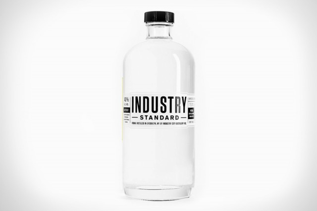 Industry Standard Vodka is Vodka Science