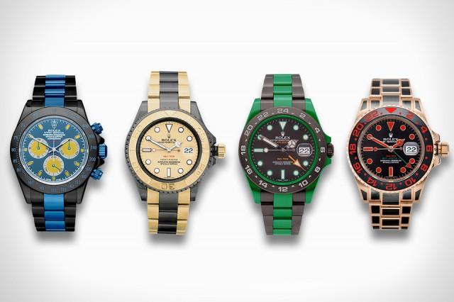 Fully Color Coat Your Rolex with Rau-Tech's New Process