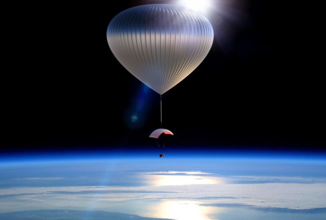 Travel 20-Miles Above Earth in A Hot-Air Balloon