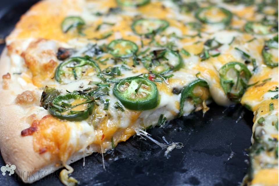 Jalapeno Popper Pizza Recipe — Dishmaps