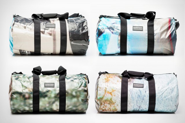 These Bags Are Made from Old Billboards