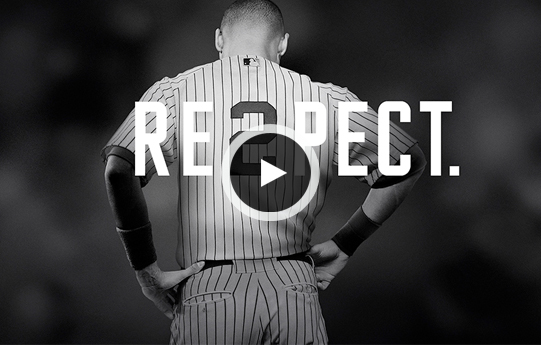 "Watch the Jordan Brand Pay Tribute to Derek Jeter in ""RE2PECT"""