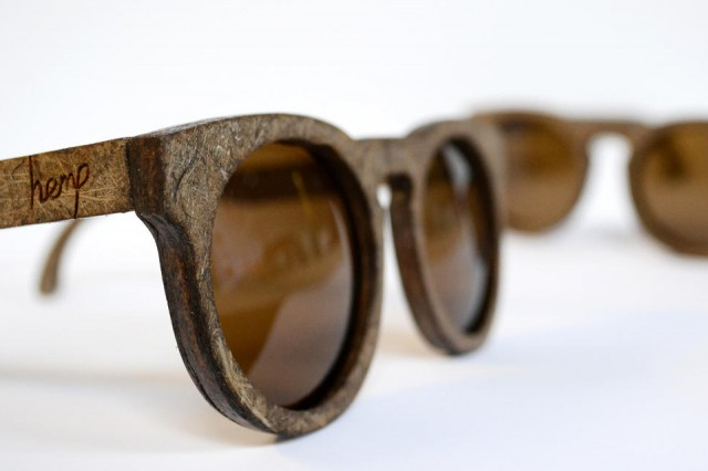 These are the First Sunglasses Fully Made of Hemp