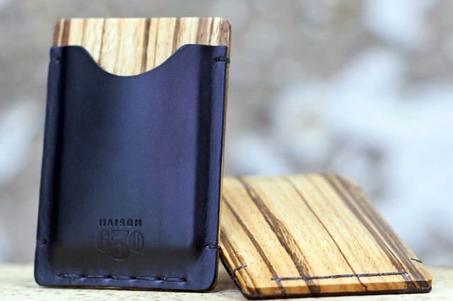 Maison 630 Makes Quality Crafted Card Holders for the Sophisticated Male