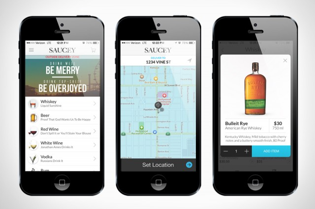Saucey App is the Uber of Alcohol Apps