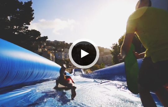 Check Out this Massive Slip-N-Slide On the Streets of San Francisco