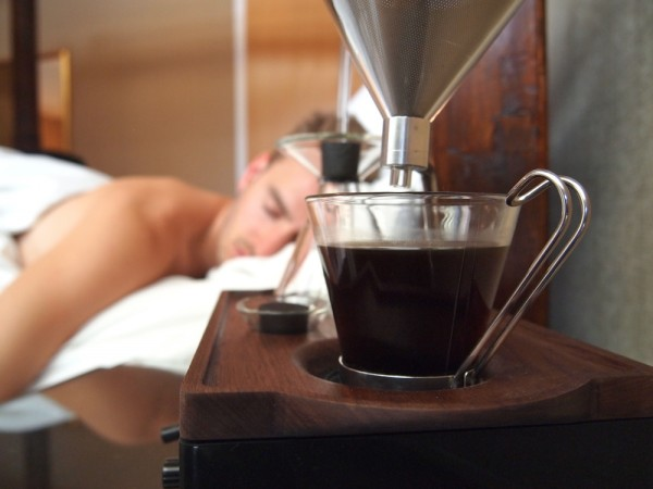 The Barisieur Combines an Alarm Clock and Coffee Brewer into One