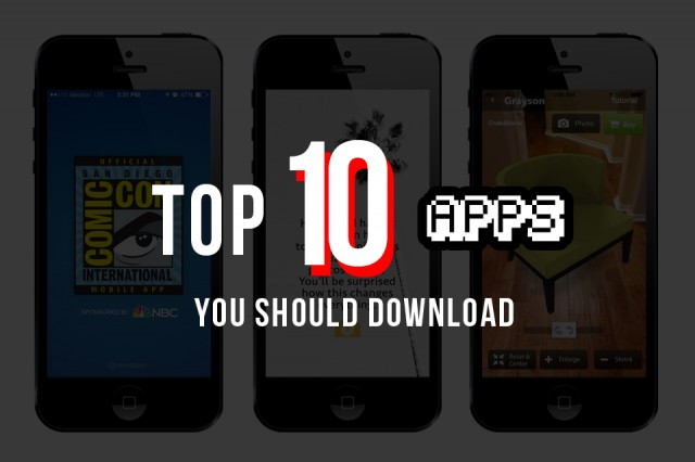 10 New Apps You Should Download
