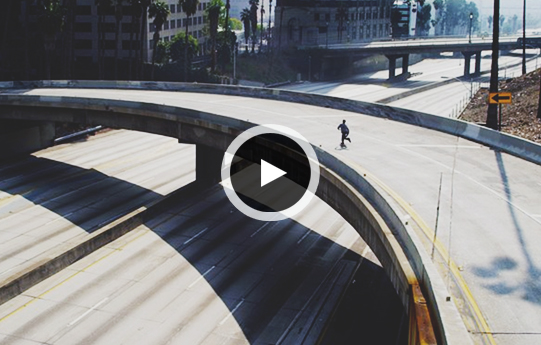 "Skateboarding Short Film ""Urban Isolation"" Shows an Empty Los Angeles"