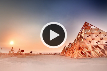 Watch an Incredible Time-Lapse of Burning Man Festival