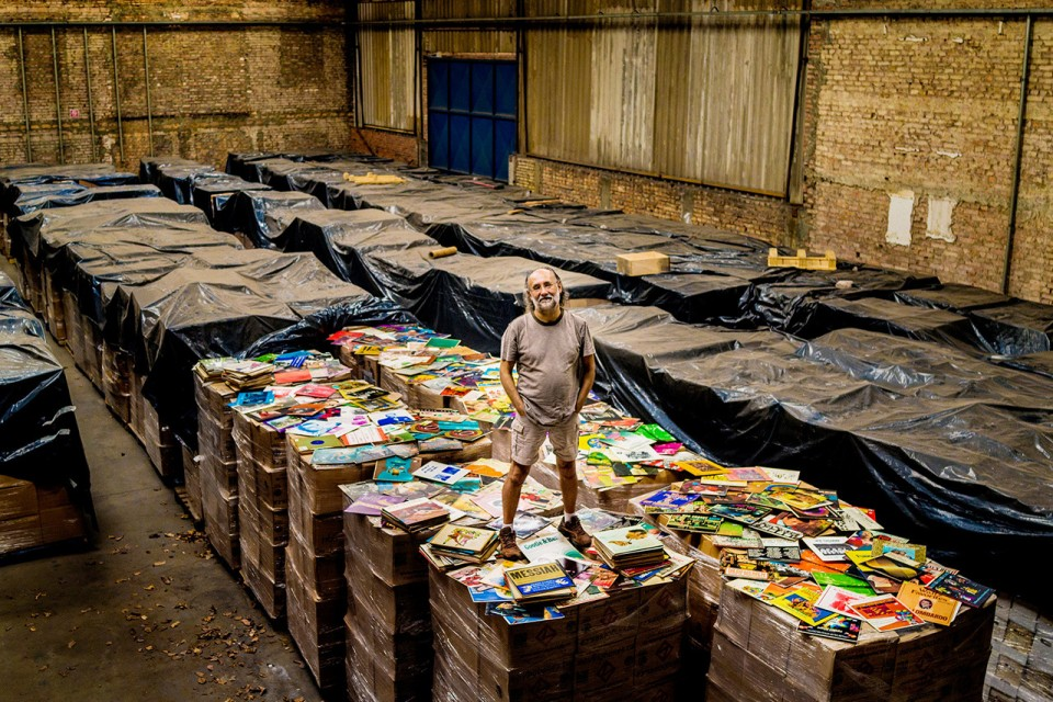 The World's Largest Vinyl Record Collection