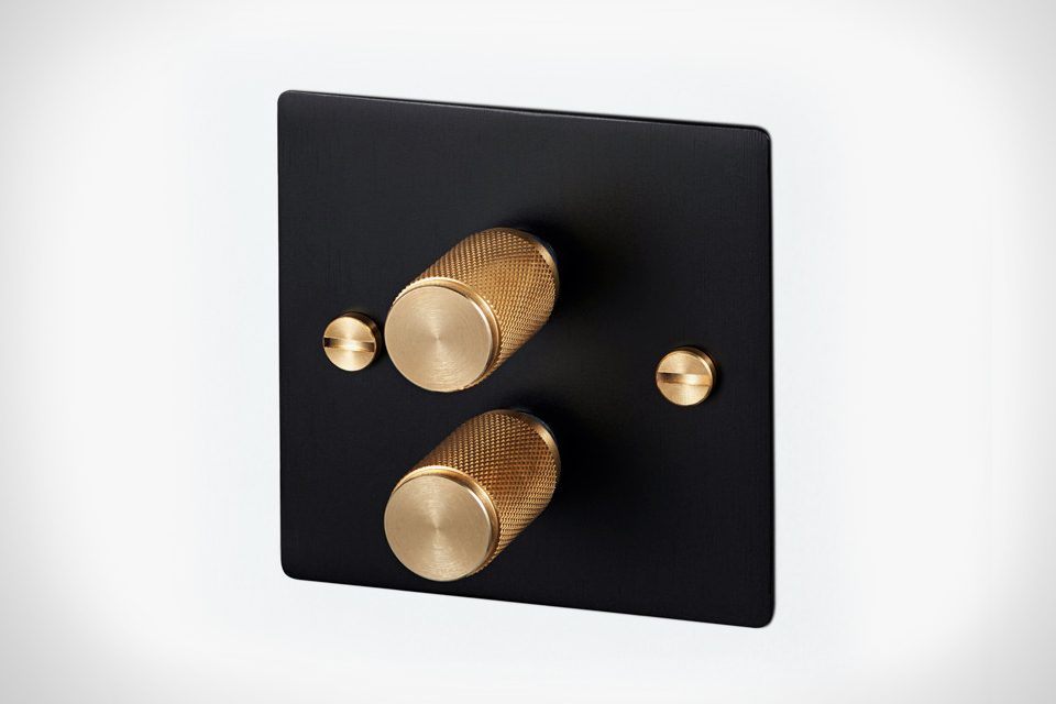 Metal Light Switches and Dimmers by Buster & Punch