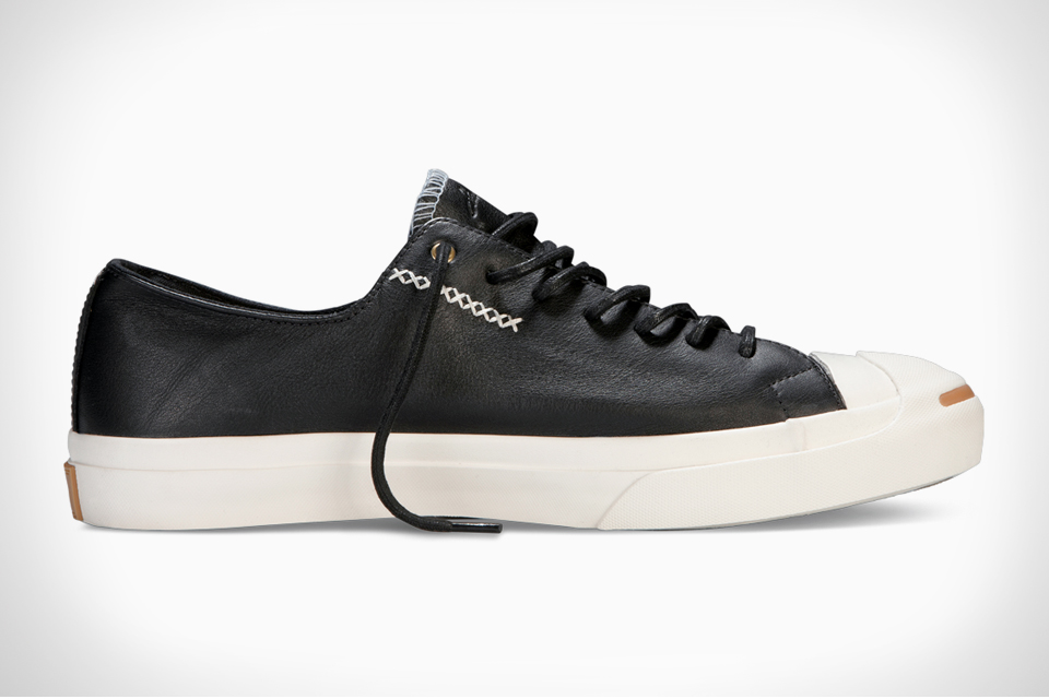 Converse x Jack Purcell Cross-Stitch Leather Collection