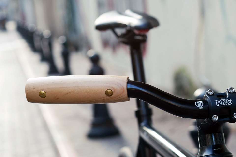 Daily Wood Bike Grips