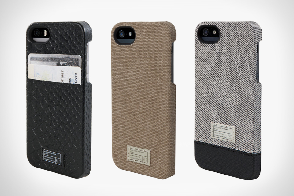 HEX Offers Textile-Wrapped iPhone Cases