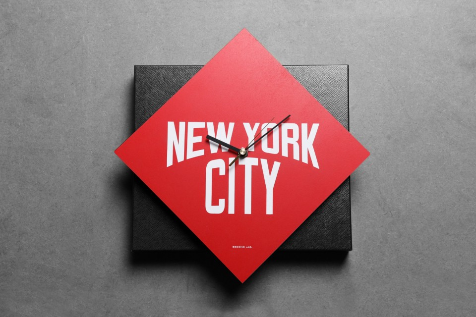 SECOND LAB New York City Wall Clock Collection