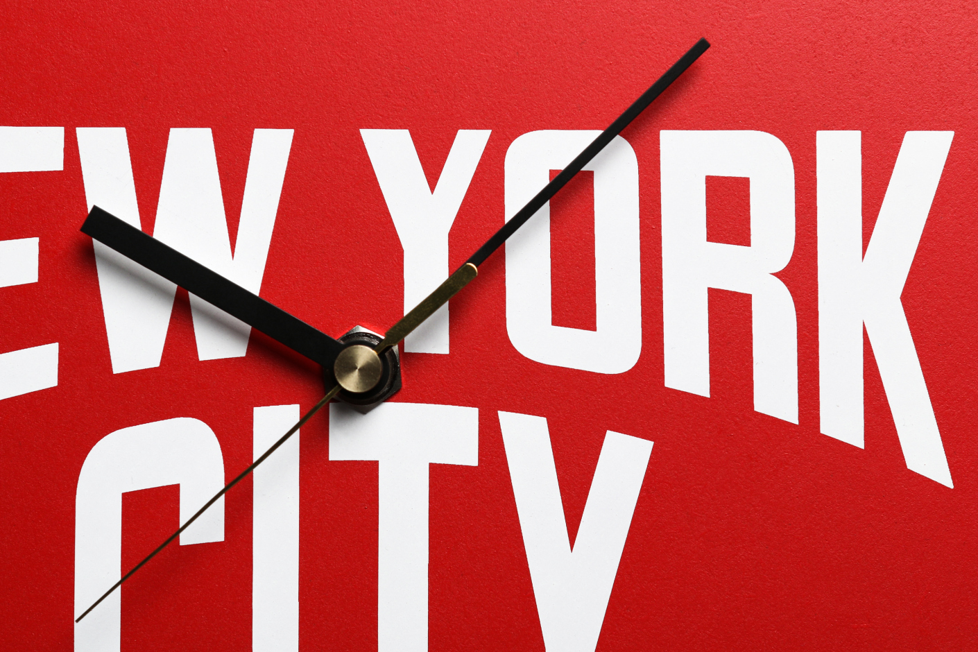 Second Lab New York City Wall Clock Collection Direkt