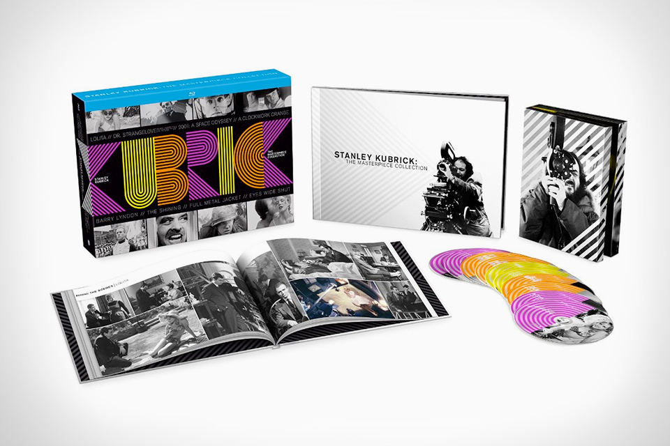 Enjoy Stanley Kubrick Classics with The Masterpiece Collection