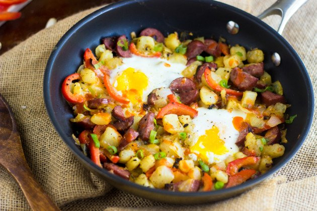 Weekend Recipe: Buffalo Chicken Hash