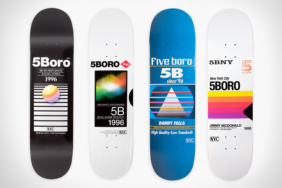 VHS Skateboard Decks by 5Boro NYC