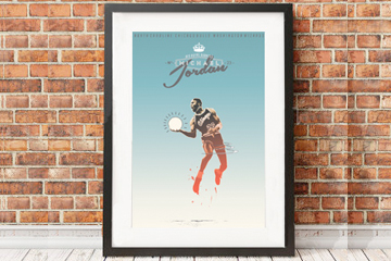These Minimal Prints are Perfect for Sports Fans