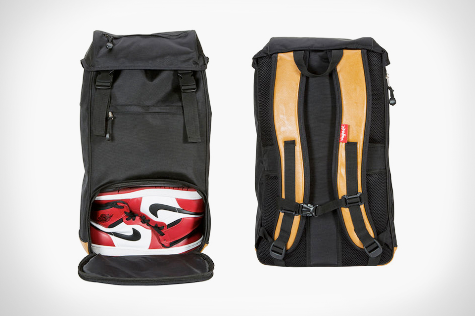 Flud's Sneaker Tech Backpack is Made for Sneakerheads