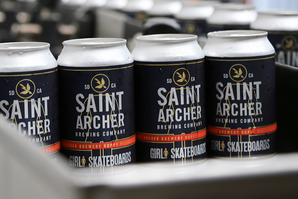 Saint Archer Collaborates with Girl Skateboards to Brew Hoppy Pilsner